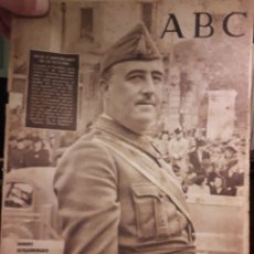 Coleccionismo de Los Domingos de ABC: PERIODICO ABC 1941 FRANCO. Lote 160301828