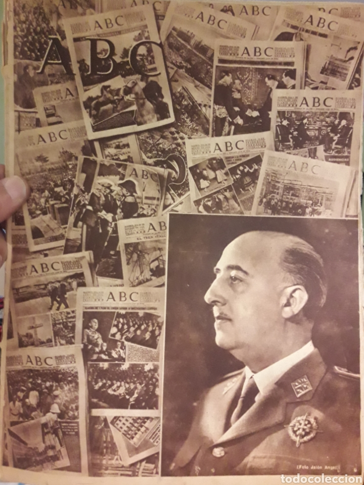 PERIODICO ABC 18 JULIO 1950 (Coleccionismo - Revistas y Periódicos Modernos (a partir de 1.940) - Los Domingos de ABC)