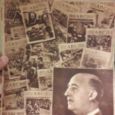 Coleccionismo de Los Domingos de ABC: PERIODICO ABC 18 JULIO 1950. Lote 160302704