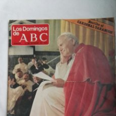 Coleccionismo de Los Domingos de ABC: LOS DOMINGOS DE ABC OCTUBRE 1979 PAPA JUAN PABLO II. Lote 160562268