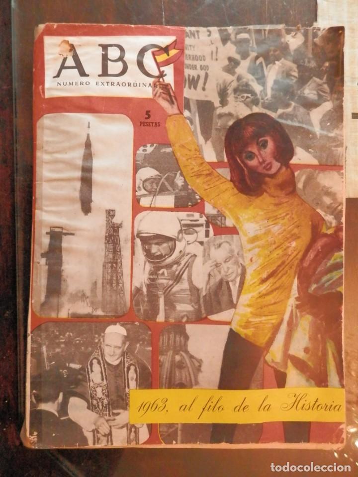 ABC NUMERO EXTRAORDINARIO, AL FILO DE LA HISTORIA. AÑO 1963- VER TODAS LAS FOTOS. (Coleccionismo - Revistas y Periódicos Modernos (a partir de 1.940) - Los Domingos de ABC)