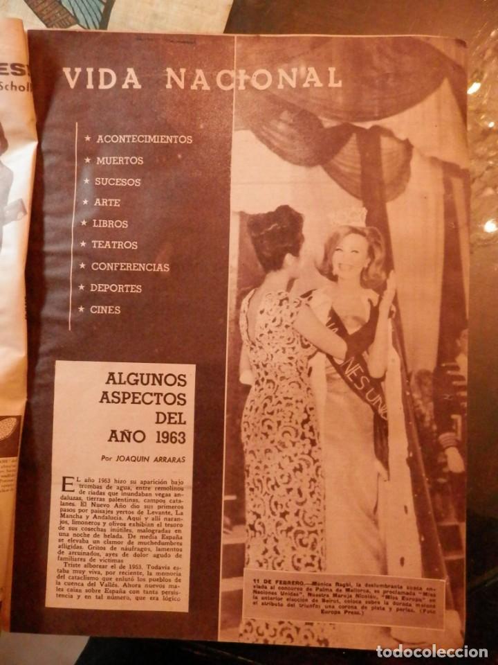 Coleccionismo de Los Domingos de ABC: ABC NUMERO EXTRAORDINARIO, AL FILO DE LA HISTORIA. AÑO 1963- VER TODAS LAS FOTOS. - Foto 2 - 160696842