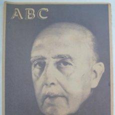Coleccionismo de Los Domingos de ABC: FRANCO HA MUERTO . ABC ESPECIAL MUERTE DEL CAUDILLO. Lote 161393462