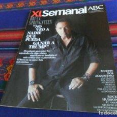 Coleccionismo de Los Domingos de ABC: XL SEMANAL ABC Nº 1629. 13-1-19. BRUCE SPRINGSTEEN TRUMP ALGORITMO COCHE AUTÓNOMO ROCK HUDSON. BE.. Lote 161693498