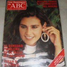 Coleccionismo de Los Domingos de ABC: REVISTA LOS DOMINGOS DE ABC. 13 DE SEPTIEMBRE DE 1987. MARÍA DANKO EN PORTADA.. Lote 161772486
