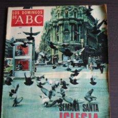 Coleccionismo de Los Domingos de ABC: LOS DOMINGOS DE ABC. ABRIL 1971. Lote 165248181