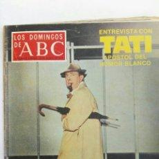 Coleccionismo de Los Domingos de ABC: LOS DOMINGOS DE ABC TATI AGOSTO 1979. Lote 165896422