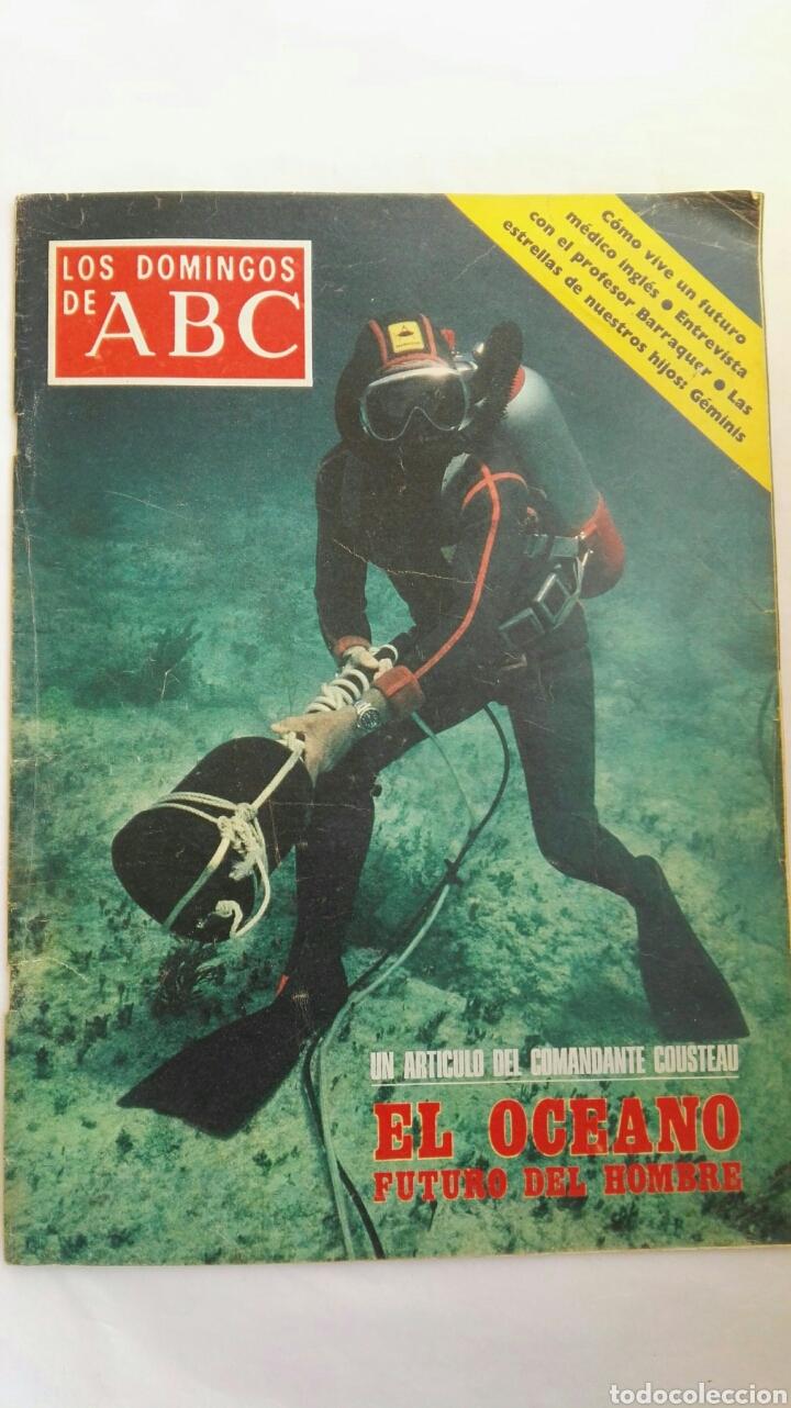 LOS DOMINGOS DE ABC COUSTEAU (Coleccionismo - Revistas y Periódicos Modernos (a partir de 1.940) - Los Domingos de ABC)