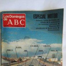 Coleccionismo de Los Domingos de ABC: LOS DOMINGOS DE ABC ESPECIAL MOTOR 1980. Lote 166545642