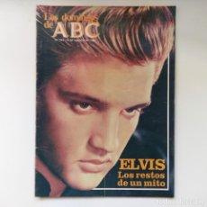 Coleccionismo de Los Domingos de ABC: LOS DOMINGOS DE ABC 15 AGOSTO 1982. ELVIS LOS RESTOS DE UN MITO. Lote 167093348