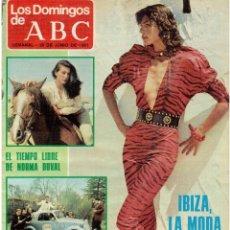 Coleccionismo de Los Domingos de ABC: 1981 NORMA DUVAL.JOSÉ LUIS COROMINA.BODA CARLOS Y LADY DI.TOPOLINO RADIO ORQUESTA.VER FOTOGRAFÍAS.. Lote 168378124