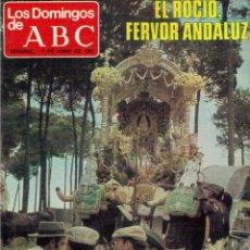 Coleccionismo de Los Domingos de ABC: 1981 EL ROCÍO, FERVOR ANDALUZ.MÁXIMO.HENRY MOORE.CONCHITA CINTRÓN. VER FOTOGRAFÍAS.. Lote 168386252