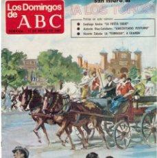 Coleccionismo de Los Domingos de ABC: 1981 SAN ISIDRO 81. A LOS TOROS. OUKA LELE. LUCIANO, EL DE SALVATIERRA. VER FOTOGRAFÍAS.. Lote 168390264