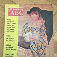 Coleccionismo de Los Domingos de ABC: LOS DOMINGOS DE ABC (13-10-1968) FRANCISCO RABAL PABLO PICASSO LAS OLIMPIADAS . Lote 168638512