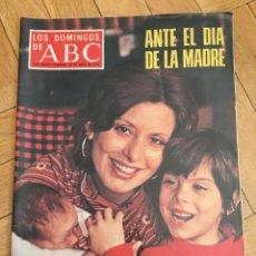 Coleccionismo de Los Domingos de ABC: LOS DOMINGOS DE ABC (25-4-1976) ELISA RAMIREZ ACTRIZ. Lote 168641016