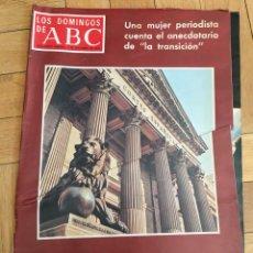 Coleccionismo de Los Domingos de ABC: LOS DOMINGOS DE ABC (7-10-1976) LAS CORTES LUCA DE TENA CANTINFLAS MARIO MORENO. Lote 168643820