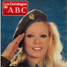 Coleccionismo de Los Domingos de ABC: 1981 EVA LEÓN.SUSANA MENDIZABAL.ISABEL PALACIOS.MONTSERRAT VEGA. ALMERIA PLATÓ. VER FOTOGRAFÍAS.. Lote 168721948