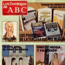 Coleccionismo de Los Domingos de ABC: 1979 VICENTE ALEIXANDRE.JUAN ROF CARBALLO.ANTONIO GUIRAU. RAIMON. VER FOTOGRAFÍAS. Lote 169792660
