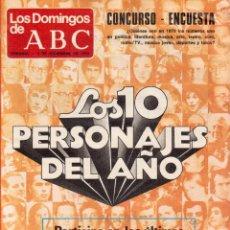 Coleccionismo de Los Domingos de ABC: 1979 LA DUQUESA DE ALBA.GISCARD-SCHMIDT.LAS GOGGI.GINA SWAISON.BETTY MISSIEGO. VER FOTOGRAFÍAS. Lote 170348956