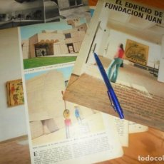 Coleccionismo de Los Domingos de ABC: RECORTE : EL EDIFICIO DE LA FUNDACION JOAN MIRÓ. DOMINGOS ABC, SPTMBRE 1975. Lote 170497264