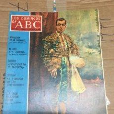Coleccionismo de Los Domingos de ABC: LOS DOMINGOS DE ABC (1-5-1970) TORERO JOSELITO TOROS . Lote 170986059