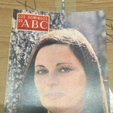 Coleccionismo de Los Domingos de ABC: LOS DOMINGOS DE ABC (16-8-1970) LUCIA BOSE EN CAPRI. Lote 170987078