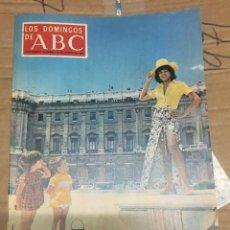 Coleccionismo de Los Domingos de ABC: LOS DOMINGOS DE ABC (23-8-1970) NORY AMEZAGA PABLO NERUDA. Lote 170987128