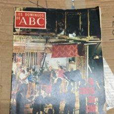 Coleccionismo de Los Domingos de ABC: LOS DOMINGOS DE ABC (6-11-1970) LA CRISIS DEL CINE ESPAÑOL. Lote 170987872