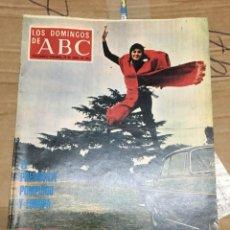 Coleccionismo de Los Domingos de ABC: LOS DOMINGOS DE ABC (25-4-1971) TERESA DEL RIO EN PORTADA. Lote 170988829