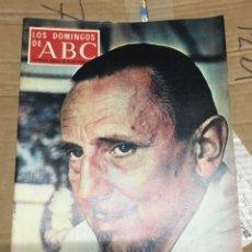 Coleccionismo de Los Domingos de ABC: LOS DOMINGOS DE ABC (26-9-1971) BUERO VALLEJO EN PORTADA TENIS ORANTES . Lote 171012068