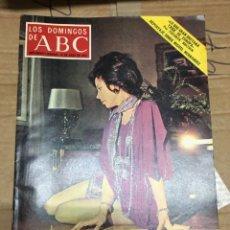 Coleccionismo de Los Domingos de ABC: LOS DOMINGOS DE ABC (30-7-1972) AURORA BAUTISTA EN PORTADA. Lote 171067805