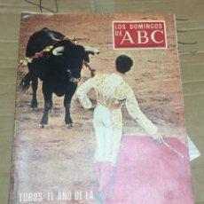 Coleccionismo de Los Domingos de ABC: LOS DOMINGOS DE ABC (25-3-1973) TOROS ESTHER GALA TENIS. Lote 171271565