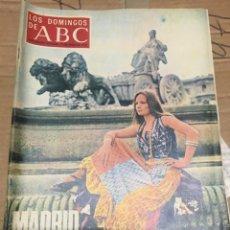 Coleccionismo de Los Domingos de ABC: LOS DOMINGOS DE ABC (13-5-1973) MADRID EN FIESTA SAN ISIDRO FRANCISCO RABAL. Lote 171271934
