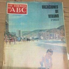 Coleccionismo de Los Domingos de ABC: LOS DOMINGOS DE ABC (1-7-1973) FERNANDO REY . Lote 171272219