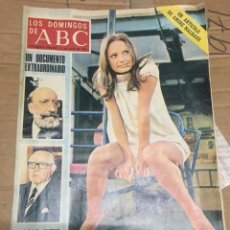 Coleccionismo de Los Domingos de ABC: LOS DOMINGOS DE ABC (15-7-1973) MENENDEZ PIDAL PEDRO SAINZ RODRIGUEZ MARI FRANCIS EN PORTADA. Lote 171272722