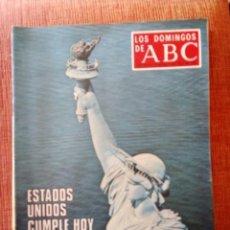 Coleccionismo de Los Domingos de ABC: ESTADOS UNIDOS CUMPLE HOY 200 AÑOS. MONOGRÁFICO 1.976. Lote 171349497