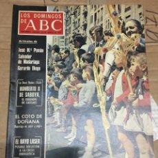 Coleccionismo de Los Domingos de ABC: LOS DOMINGOS DE ABC (23-3-1975) SEMANA SANTA. Lote 171463664
