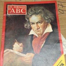 Coleccionismo de Los Domingos de ABC: LOS DOMINGOS DE ABC (20-3-1977) BEETHOVEN EN PORTADA MIGUEL DELIBES. Lote 171528938