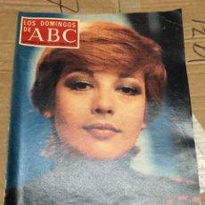 Coleccionismo de Los Domingos de ABC: LOS DOMINGOS DE ABC (17-4-1977) ISABEL TENAILLE EN PORTADA TICO MEDINA . Lote 171529217
