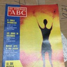 Coleccionismo de Los Domingos de ABC: LOS DOMINGOS DE ABC (17-7-1977) EL SOL REGALA ENERGIA WIMBLEDON TENIS BJORN BORG. Lote 171530767