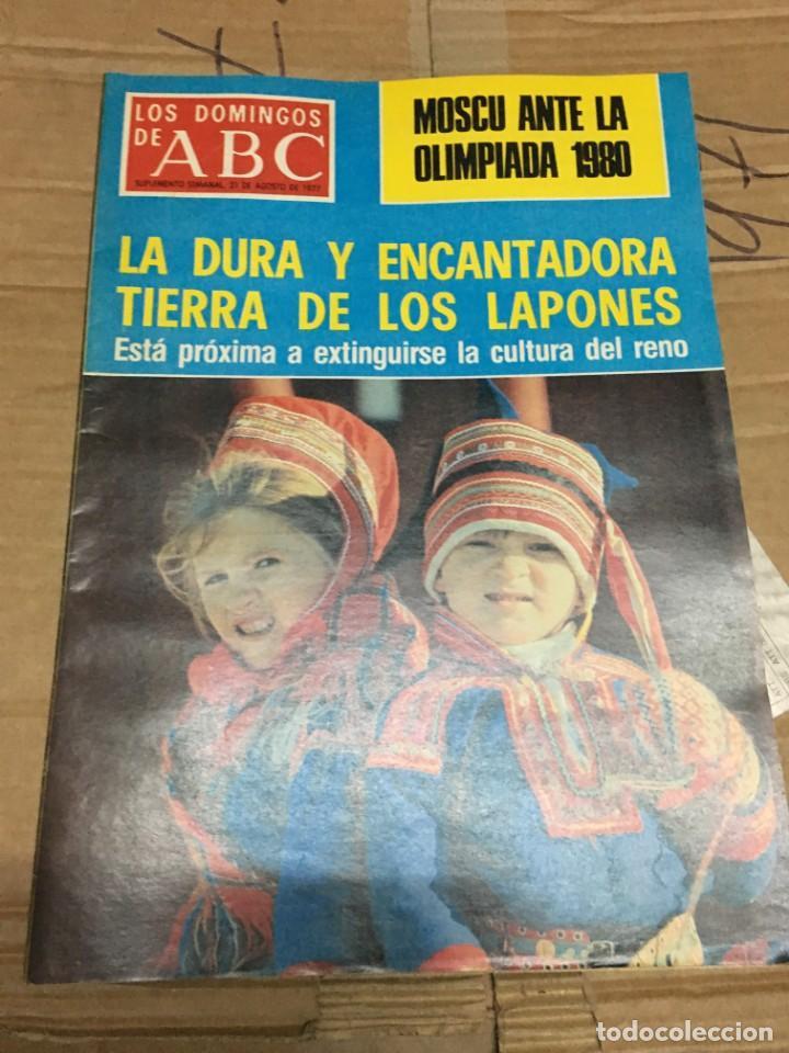 LOS DOMINGOS DE ABC (21-8-1977) MOSCU OLIMPIADAS 1980 CHARLES BRONSON (Coleccionismo - Revistas y Periódicos Modernos (a partir de 1.940) - Los Domingos de ABC)