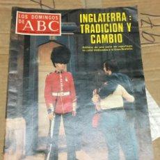 Coleccionismo de Los Domingos de ABC: LOS DOMINGOS DE ABC (27-11-1977) INGLATERRA SYLVESTRE STALLONE ROCKY. Lote 171533209