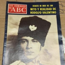 Coleccionismo de Los Domingos de ABC: LOS DOMINGOS DE ABC (18-12-1977) RODOLFO VALENTINO EN PORTADA. Lote 171533562