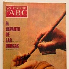 Coleccionismo de Los Domingos de ABC: ABC 20 SEPTIEMBRE 1970,EL ESPANTO DE LAS DROGAS,. Lote 171667183