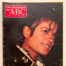 Coleccionismo de Los Domingos de ABC: ABC 11 DE MARZO 1984, MICHAEL JACKSON, VICTORIA ABRIL, ERASE UNA VEZ MARISOL. Lote 171680115