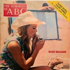 Coleccionismo de Los Domingos de ABC: ABC 7 ENERO 1973. PELEA DE GALLOS - ELKE SOMMER - PACO UMBRAL - CACERÍA EN ALASKA, VER SUMARIO . Lote 171682583