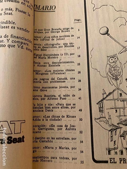 Coleccionismo de Los Domingos de ABC: ABC 30 JULIO 1972, AURORA BAUTISTA - Foto 2 - 171688049