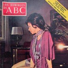 Coleccionismo de Los Domingos de ABC: ABC 30 JULIO 1972, AURORA BAUTISTA. Lote 171688049