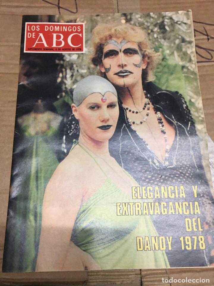 LOS DOMINGOS DE ABC (6-8-1978) DANDY GOYA EN LOS SELLOS (Coleccionismo - Revistas y Periódicos Modernos (a partir de 1.940) - Los Domingos de ABC)