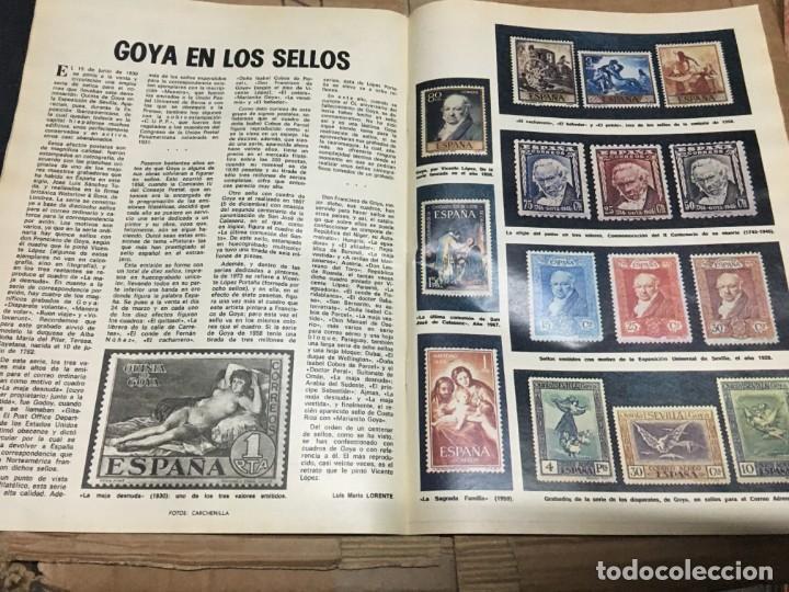 Coleccionismo de Los Domingos de ABC: LOS DOMINGOS DE ABC (6-8-1978) DANDY GOYA EN LOS SELLOS - Foto 2 - 171697880
